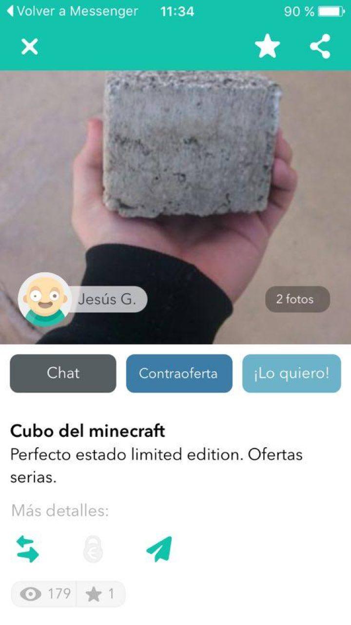 CUBO DEL MINECRAFT