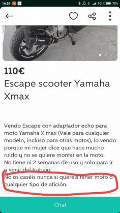 ESCAPE SCOOTER YAMAHA