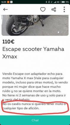 ESCAPE SCOOTER YAMAHA