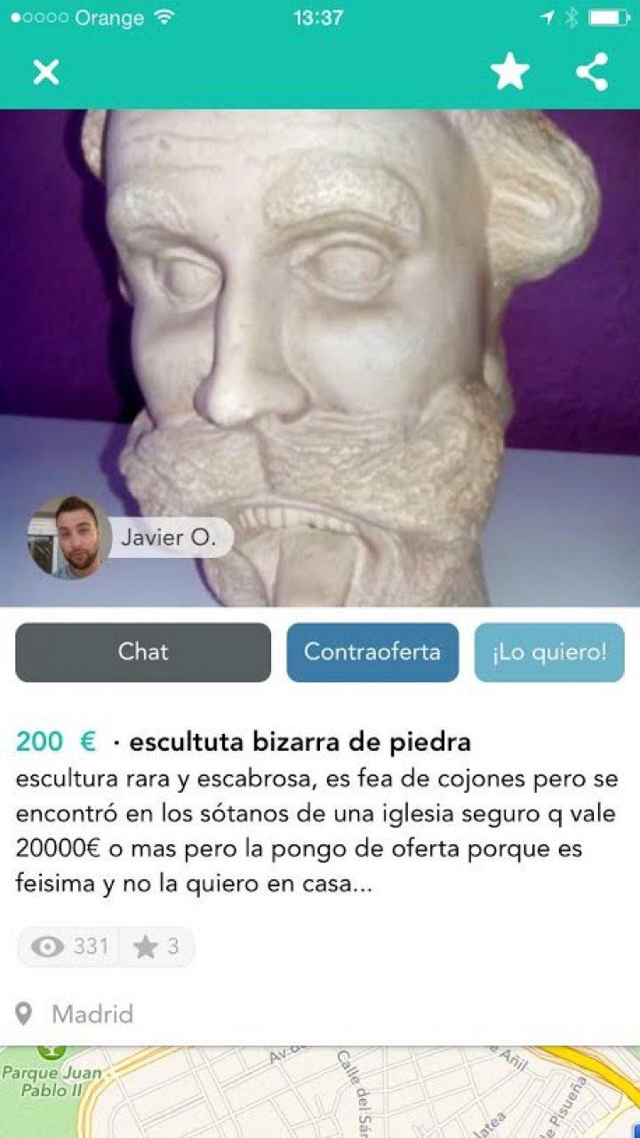 ESCULTURA BIZARRA