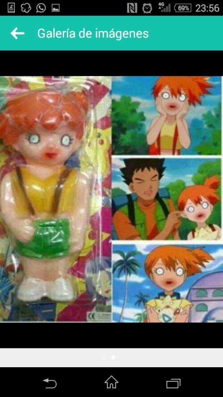 FIGURA DE MISTY DE POKEMON
