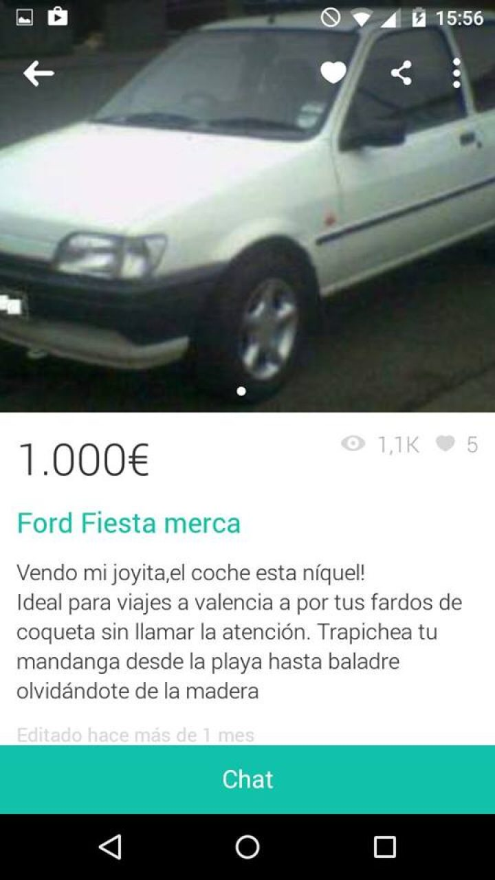 FORD FIESTA MERCA