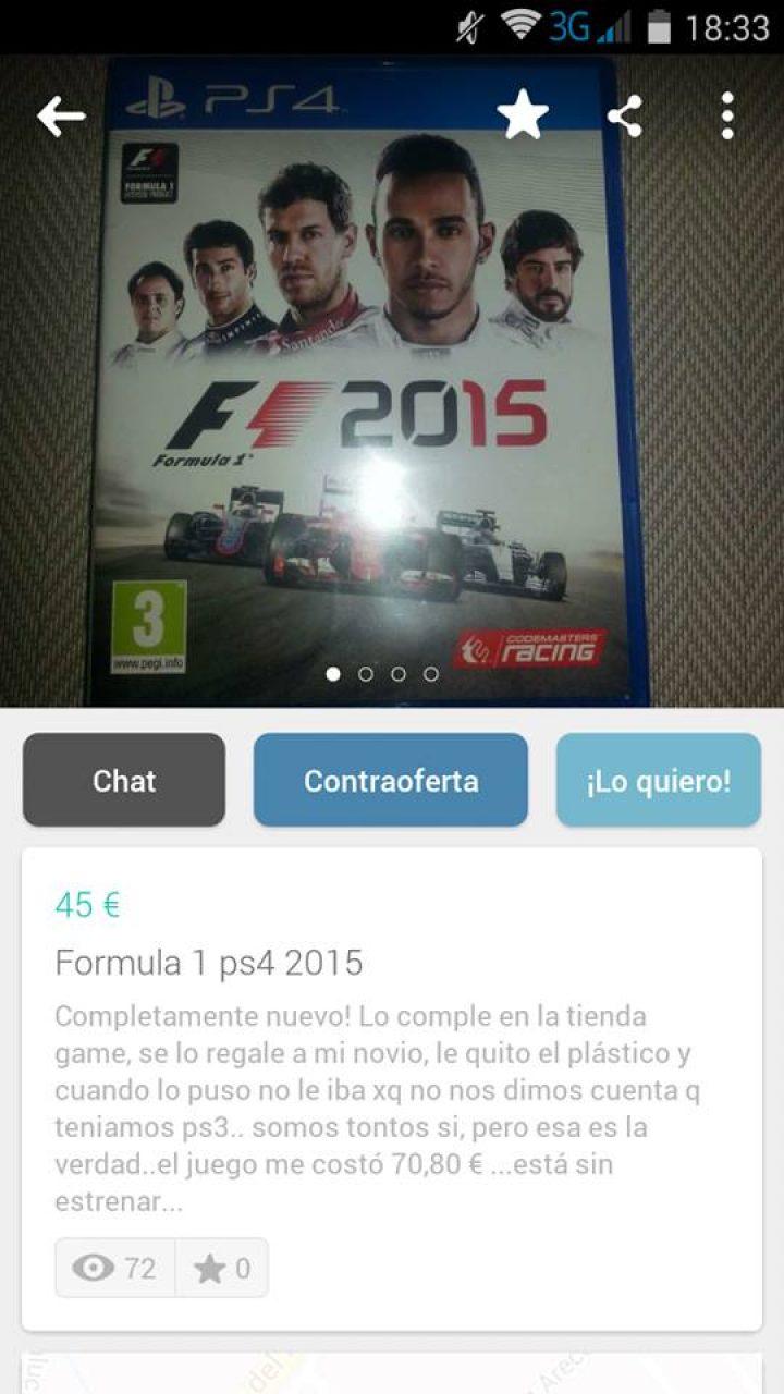 FORMULA 1 PS4