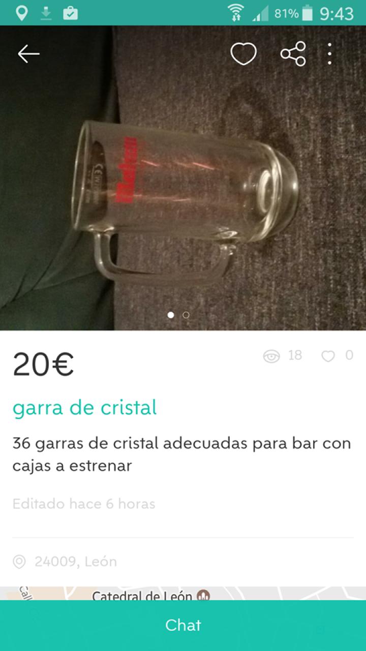 """""""GARRA DE CRISTAL"""""""