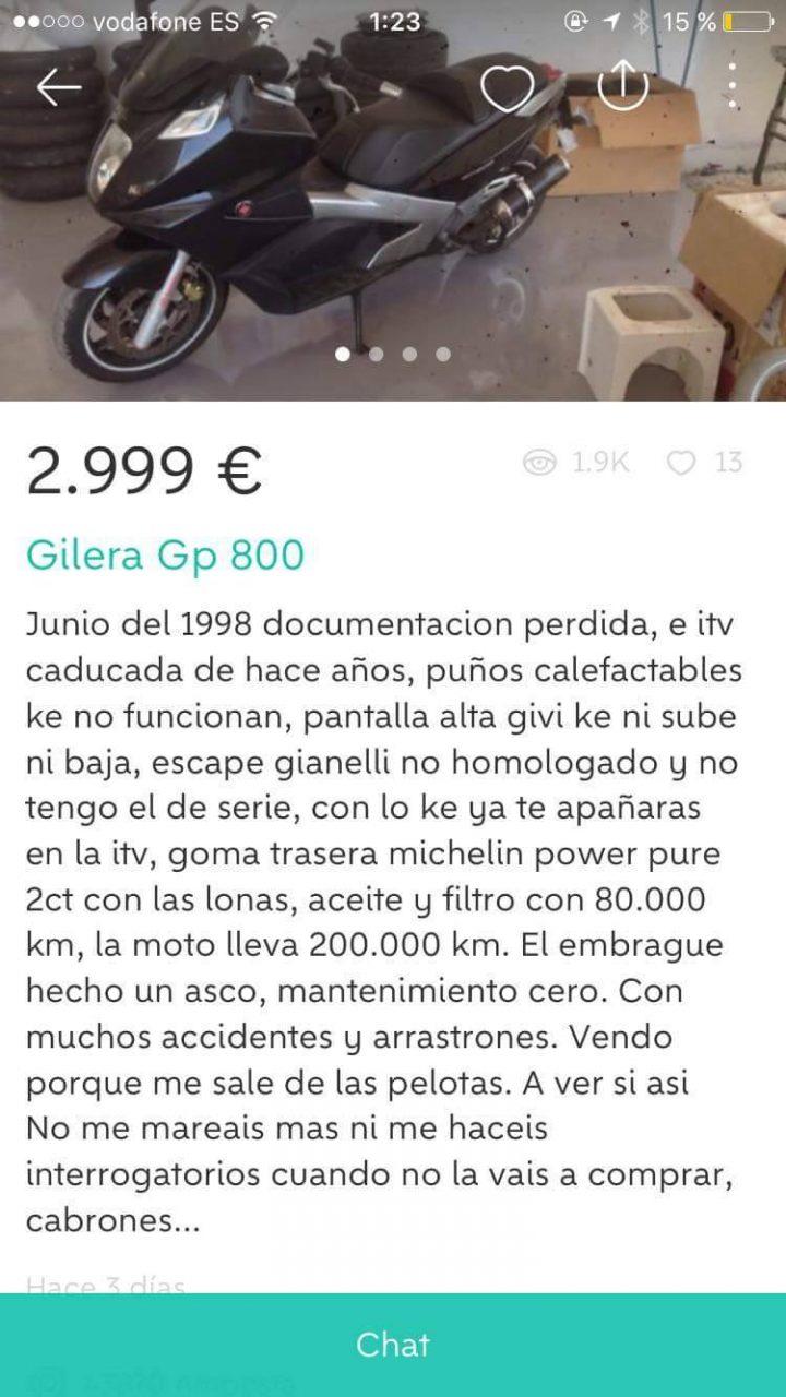 GILERA GP 800