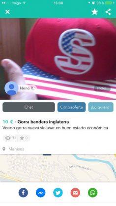 GORRA BANDERA INGLATERRA