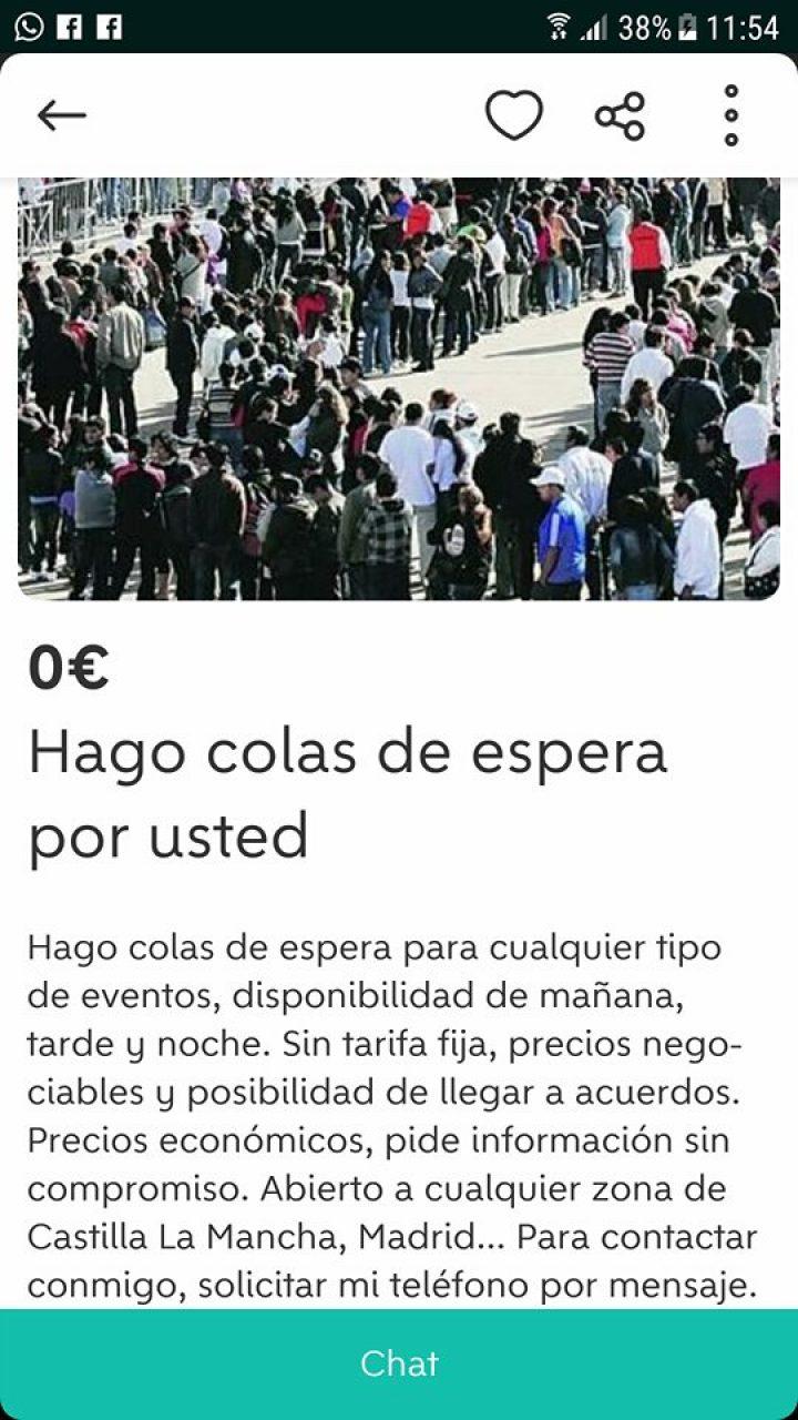HAGO COLAS DE ESPERA