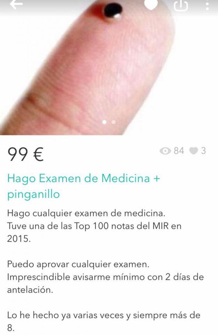 EXAMEN MEDICINA + PINGANILLO