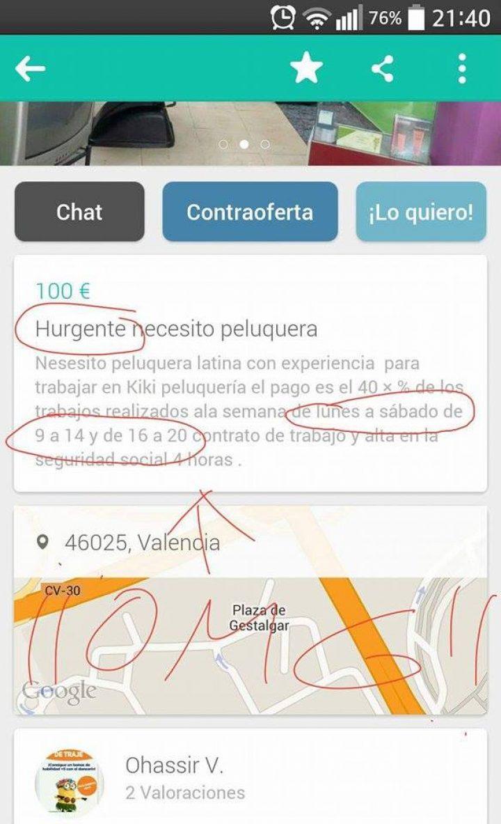 """""""HURGENTE"""" NECESITO PELUQUERA"""