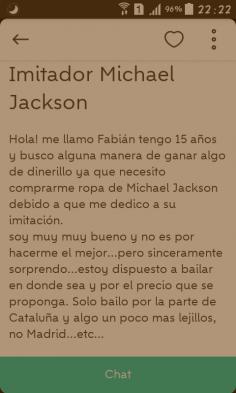 IMITADOR MICHAEL JACKSON