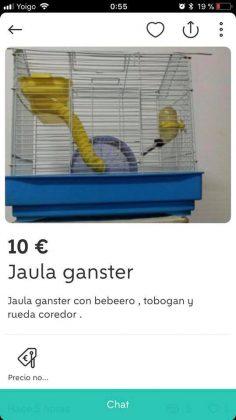 "JAULA ""GANSTER"""