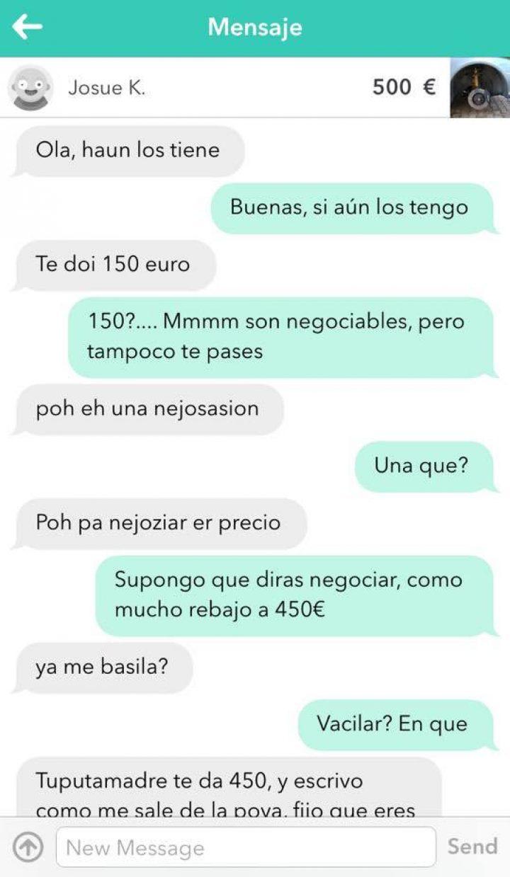 CONVERSACIÓN TE DOI 150€