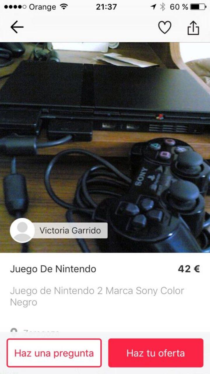 JUEGO DE NINTENDO