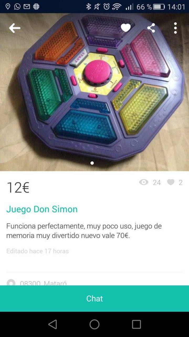 JUEGO DON SIMON