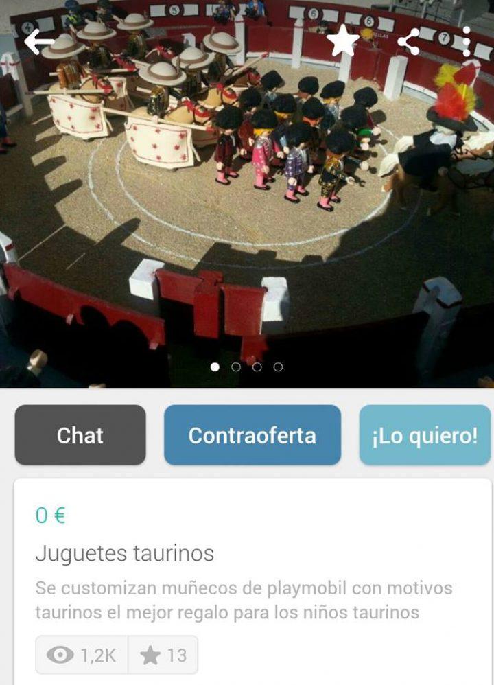 JUGUETES TAURINOS