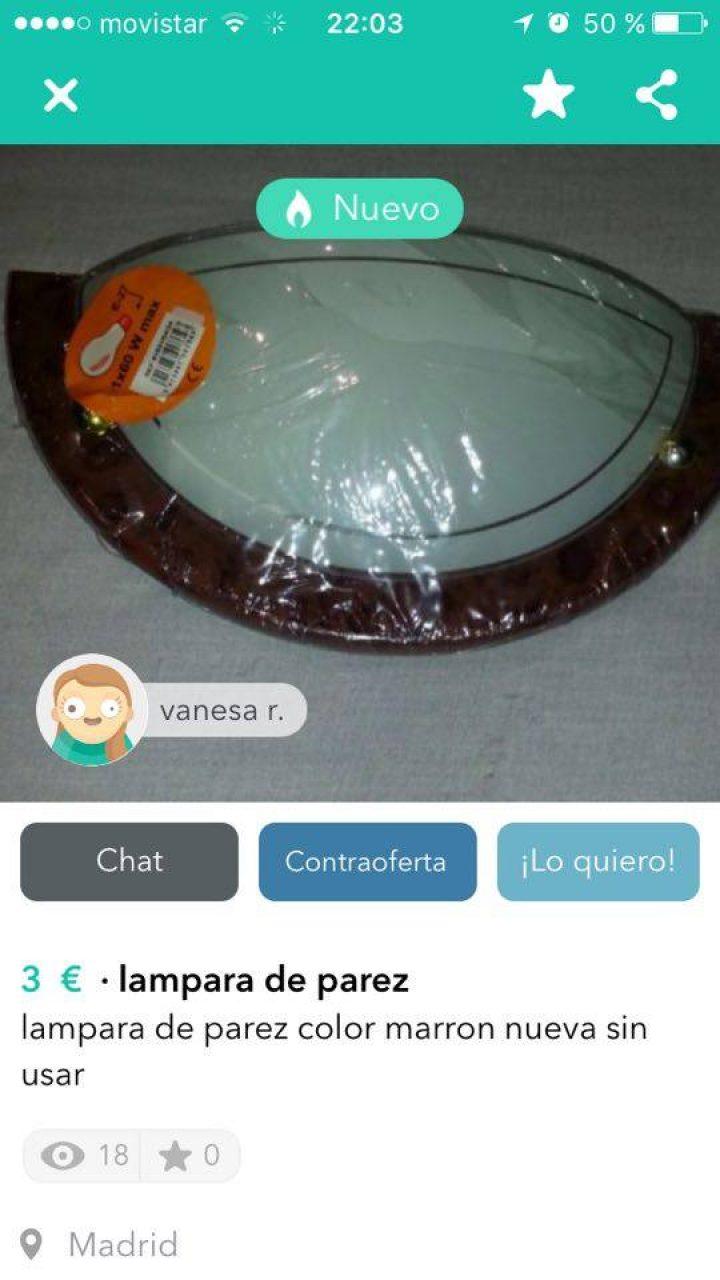 """""""LAMPARA DE PAREZ"""""""