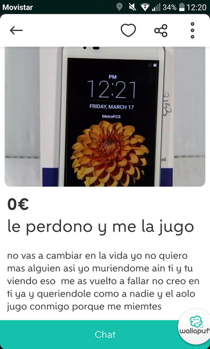 """""""LE PERDONO Y ME LA JUGO"""""""