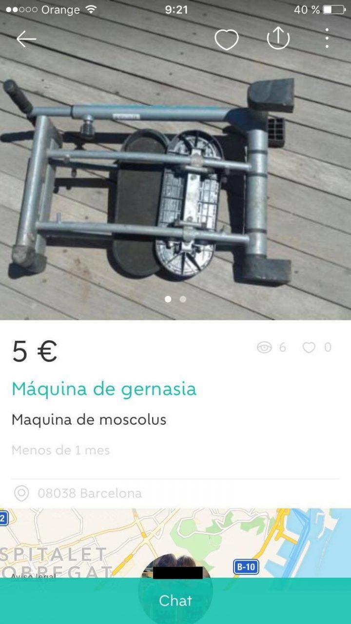 """MÁQUINA DE """"GERNASIA"""""""