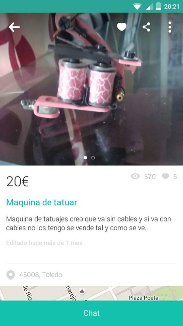 MÁQUINA DE TATUAR