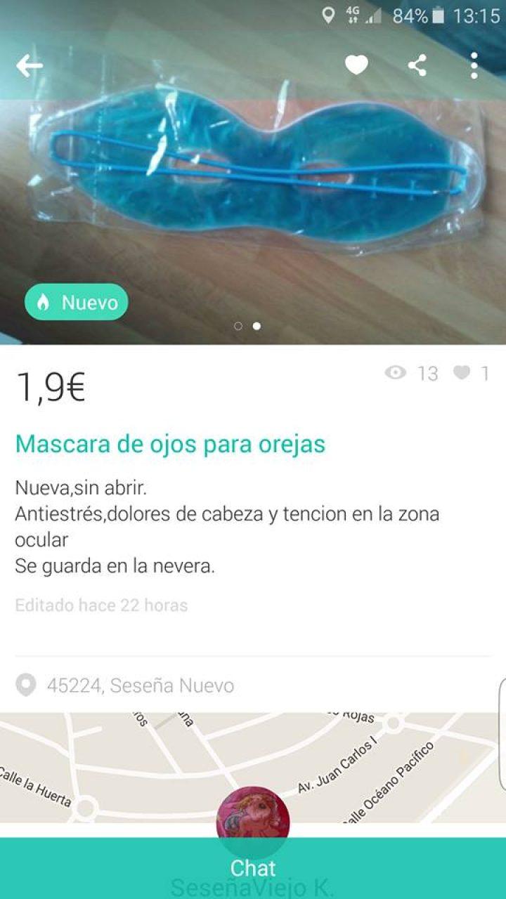 MÁSCARA DE OJOS