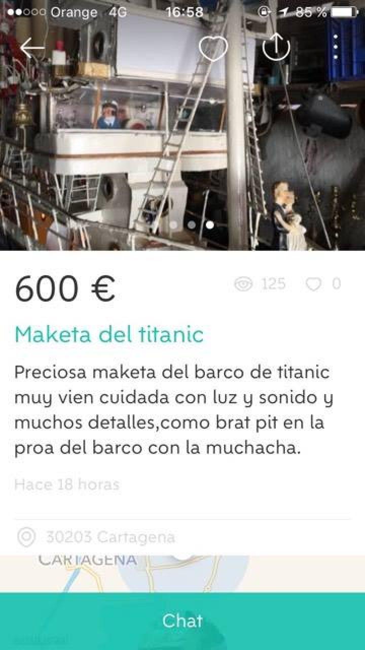 """MAKETA DEL TITANIC"""