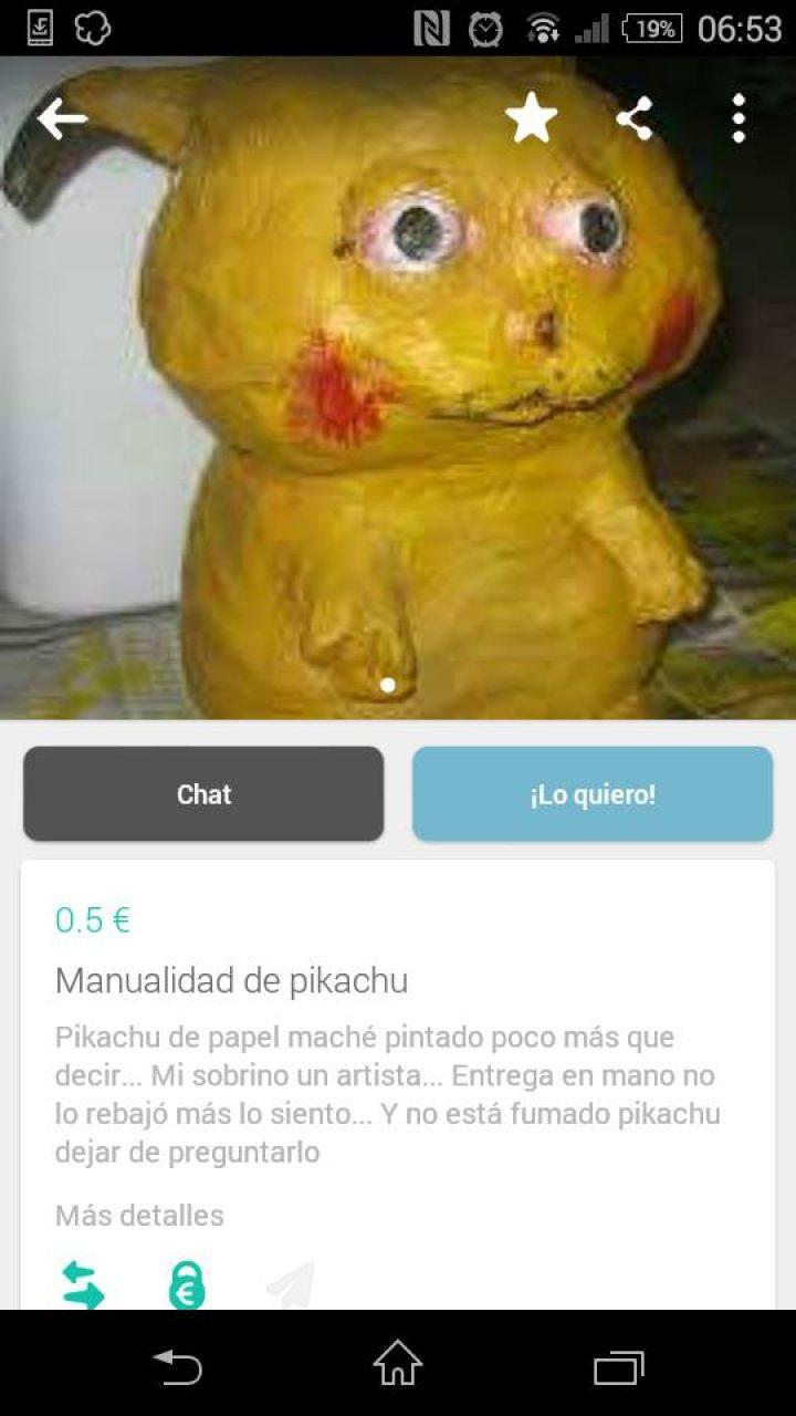 MANUALIDAD DE PIKACHU