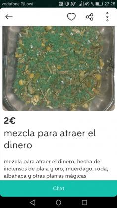 MEZCLA PARA ATRAER DINERO