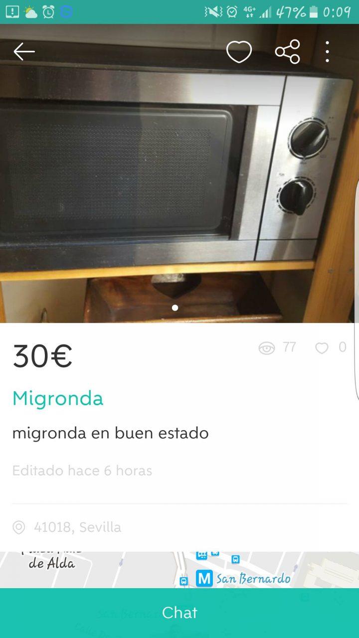 """MIGRONDA"""