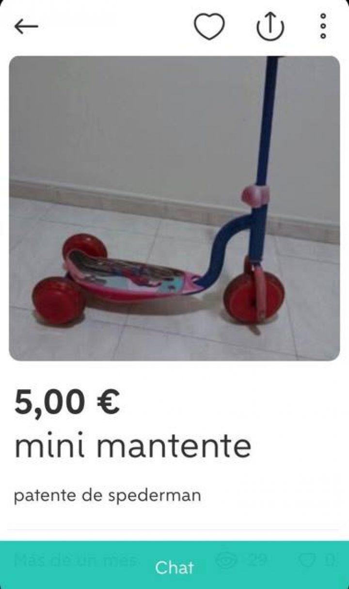 """""""MINI MANTETE"""""""