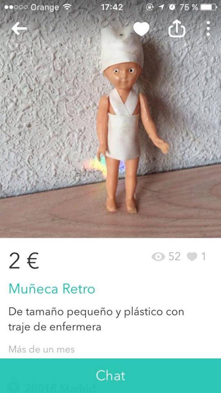 MUÑECA RETRO