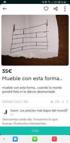 MUEBLE CON ESTA FORMA