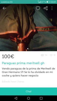 PARAGUAS PRIMA MERITXELL GH