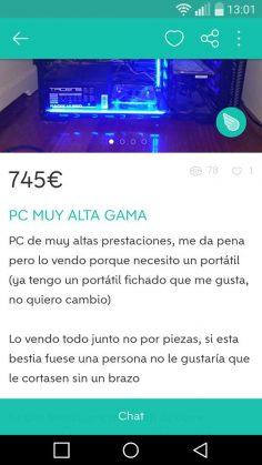 PC MUY ALTA GAMA