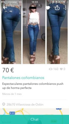 "PANTALONES ""COÑOMBIANOS"""