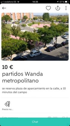 PARTIDOS WANDA METROPOLITANO