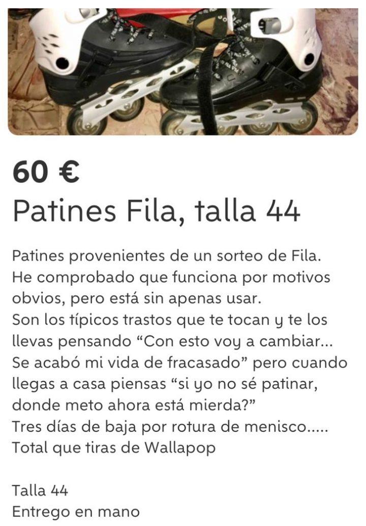 PATINES FILA