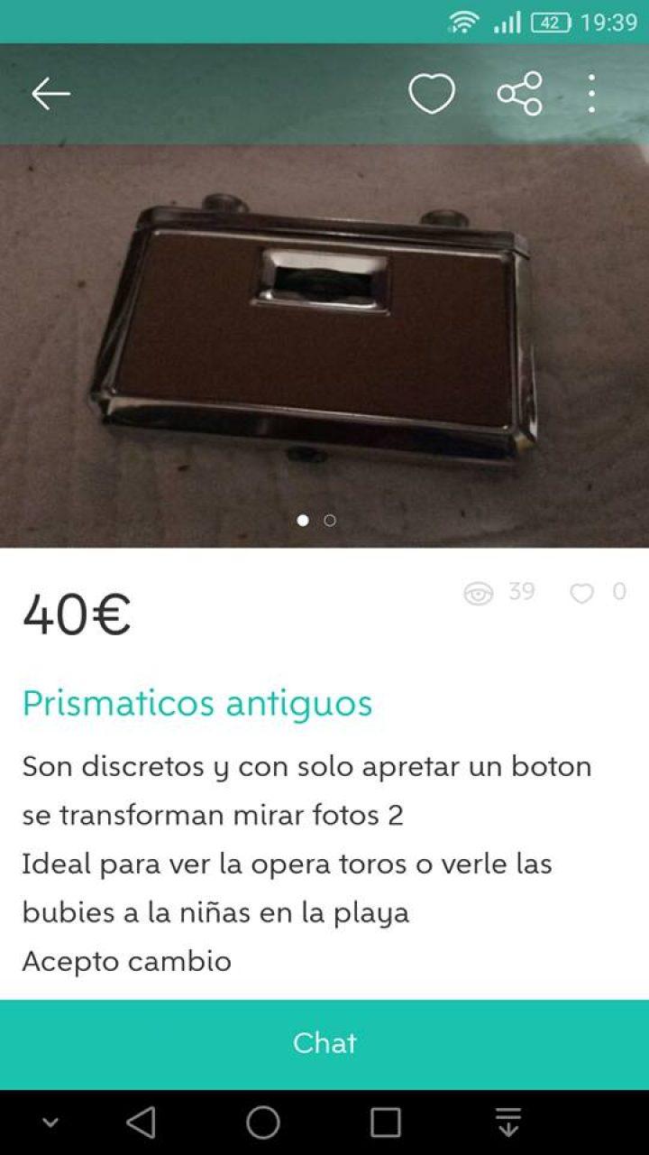 PRISMÁTICOS ANTIGUOS