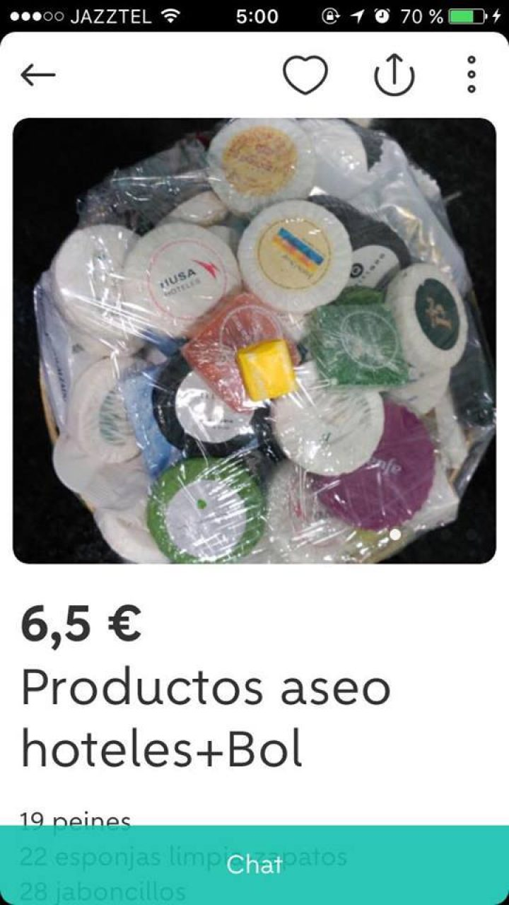 PRODUCTOS HOTELES ASEO