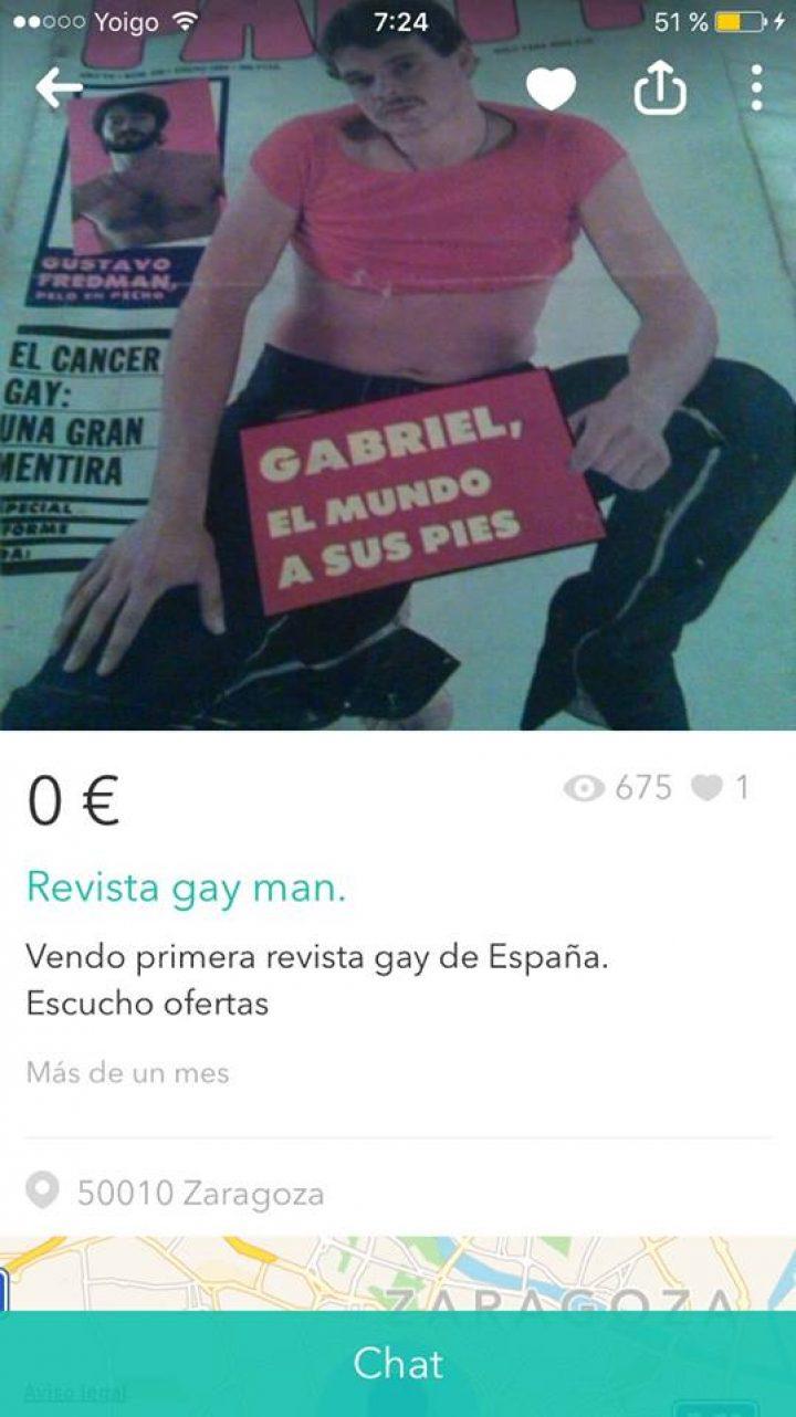 REVISTA GAY MAN