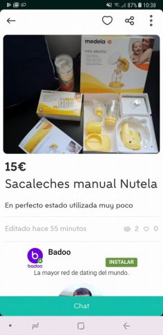 SACALECHES MANUAL