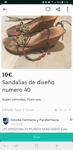 SANDALIAS DE DISEÑO