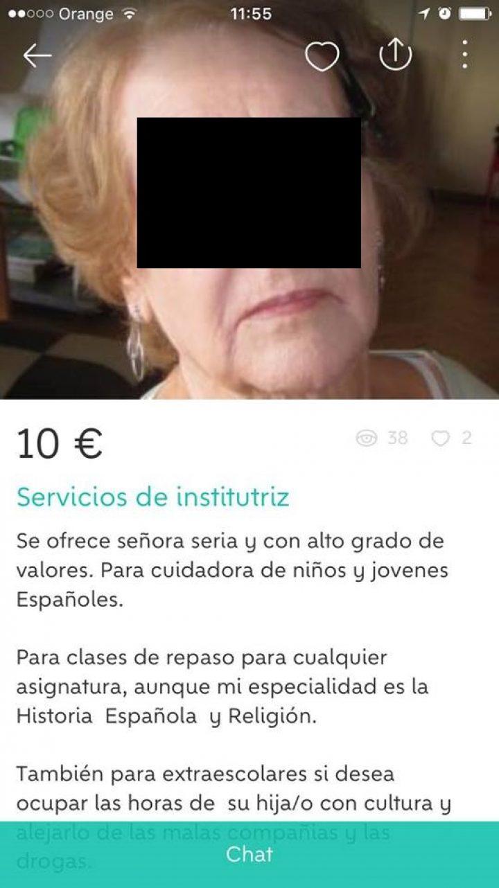 SERVICIOS DE INSTITUTRIZ
