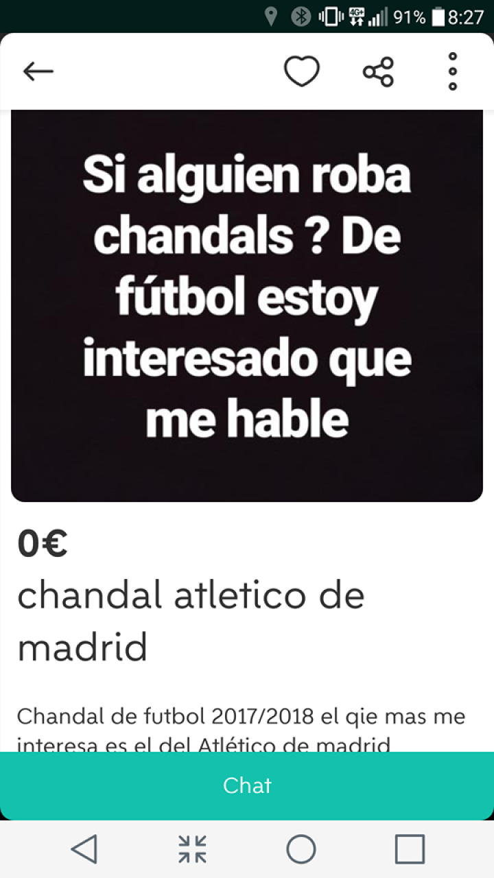 CHANDAL ATLÉTICO DE MADRID