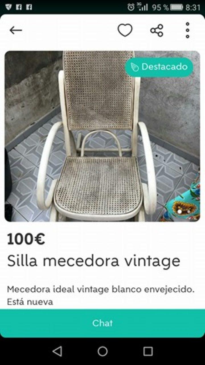 SILLA MECEDORA VINTAGE