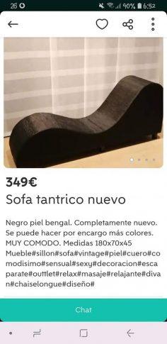 SOFÁ TÁNTRICO NUEVO
