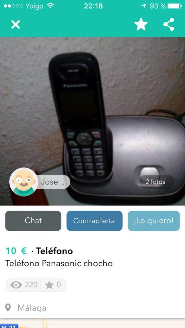 TELÉFONO CHOCHO