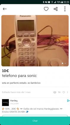 TELÉFONO PARA SONIC