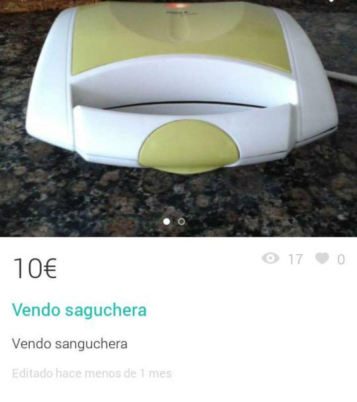 """VENDO """"SAGUCHERA"""""""