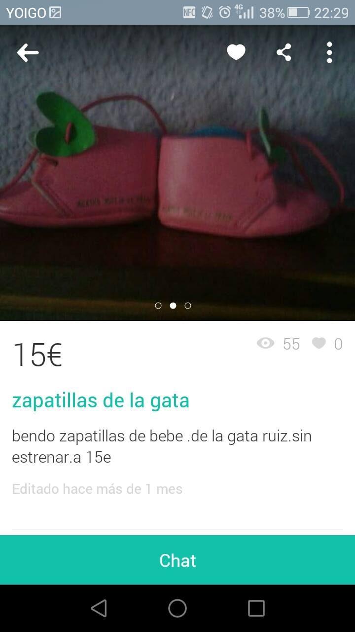 """""""ZAPATILLAS DE LA GATA"""""""