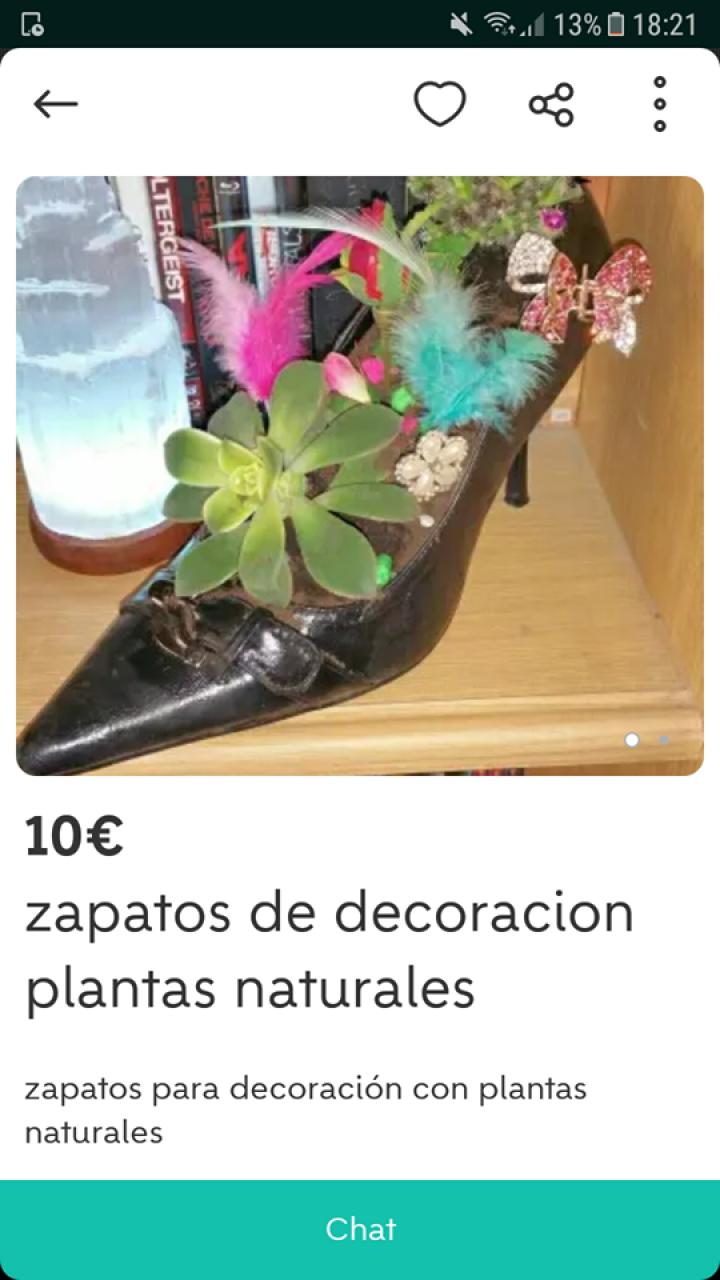ZAPATOS DE DECORACIÓN